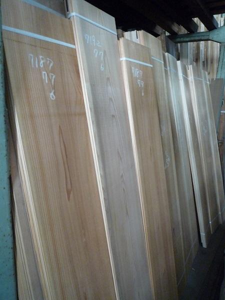 秋田県産の杉の天井板