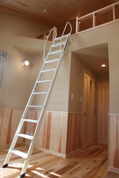 木造耐火3階建てロフト画像