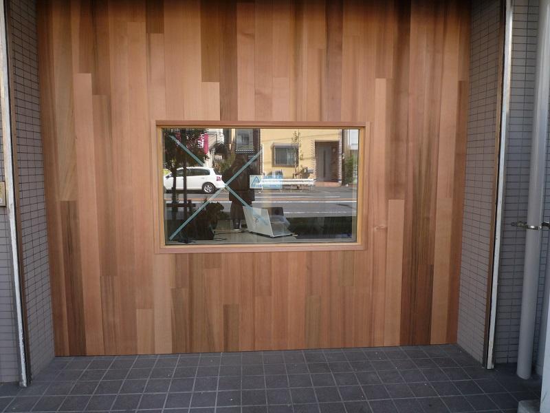 レッドシダーの外壁