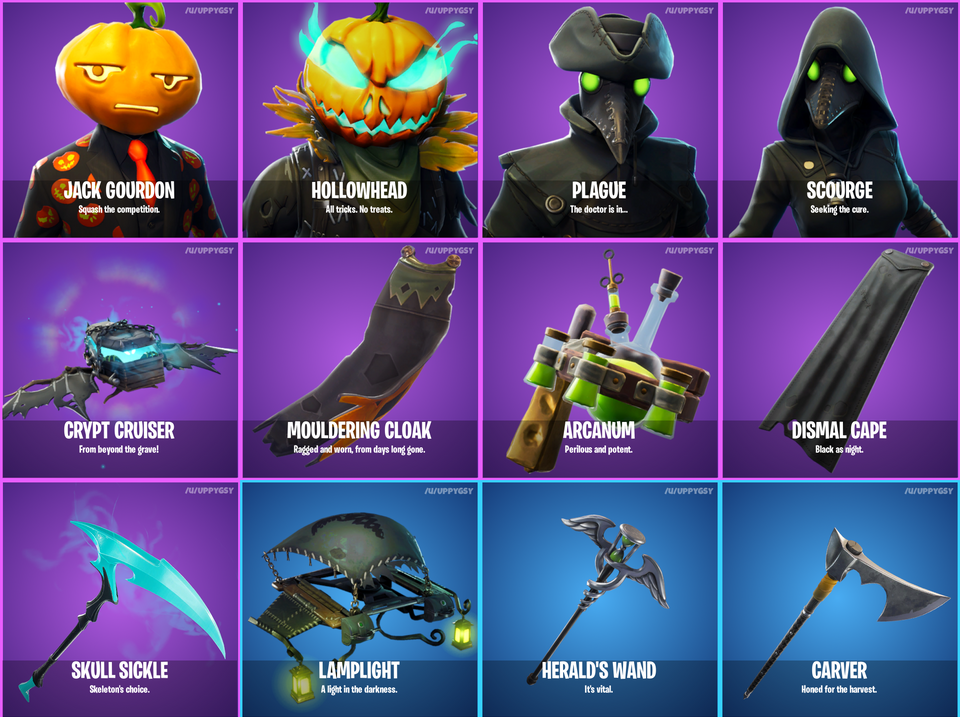 Leaks Confirm New Halloween Themed Cosmetics In Fortnite Dot Esports