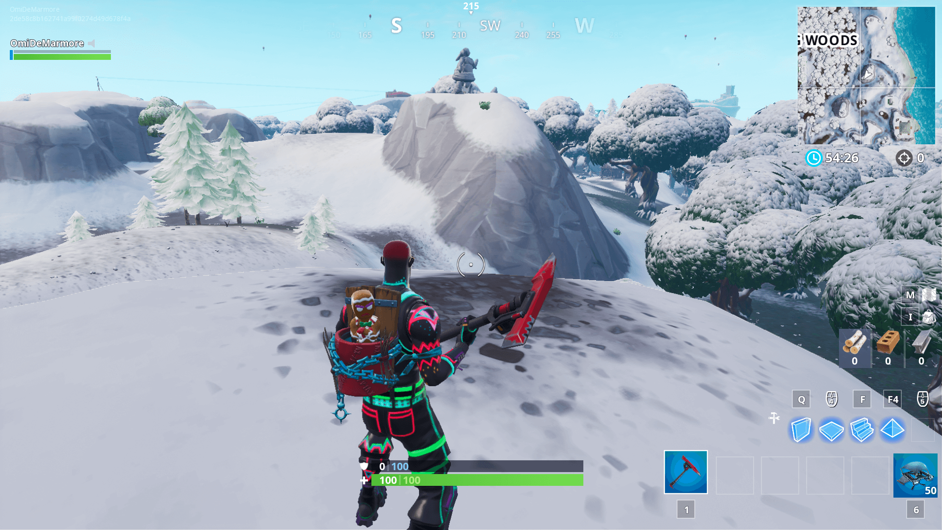 Fortnite: Mysterious Hatch, Giant Rock Lady, And