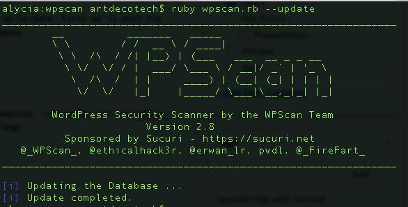 Comment tester la sécurité d'un blog WordPress avec wpscan