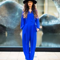 Vintage Jumpsuit at NYFW