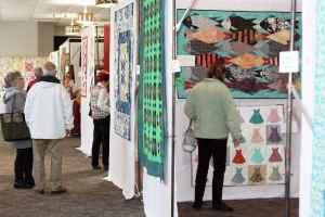 A Garden of Quilts at WheatonArts 1