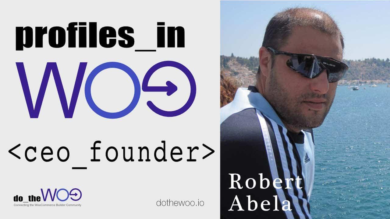 Profiles in Woo Robert Abela