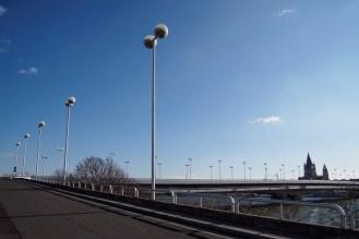 lamp posts!