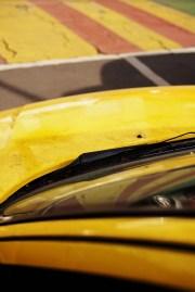 car in yellow