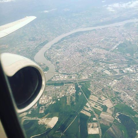 Novi Sad - iz aviona