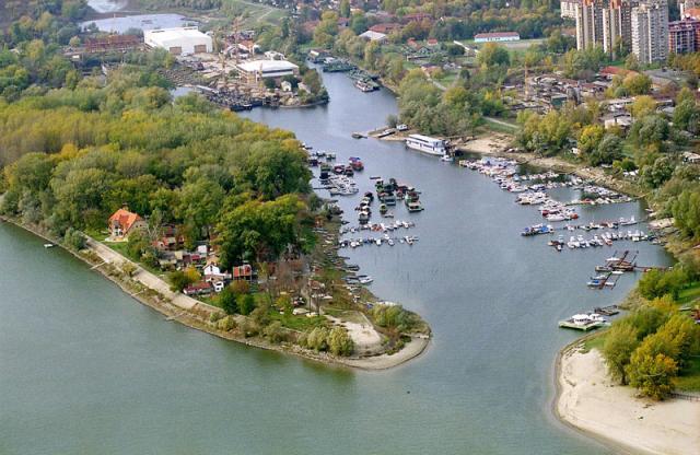 Novi Sad - ribarsko-ostrvo