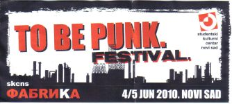 To Be Punk 2010