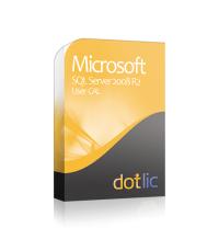 SQL 2008 R2 User CAL