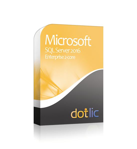 SQL 2016 Enterprise 2-core
