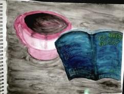 Watercolor/ Book cover series 1