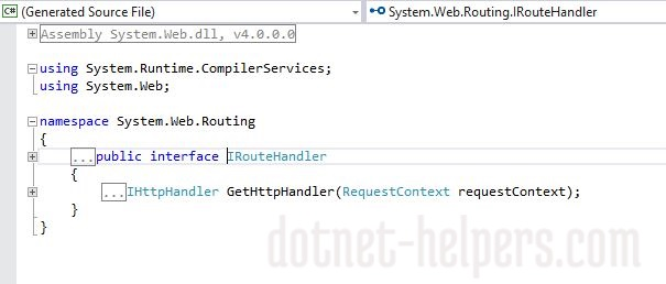 Create Custom Route -dotnet-helpers3