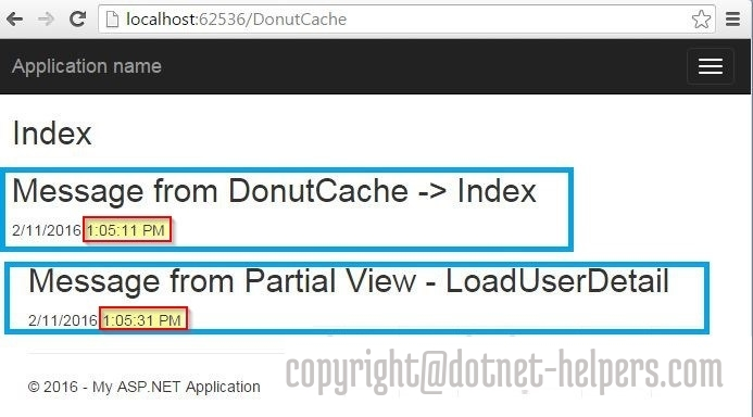 donut caching output-dotnet-helpers
