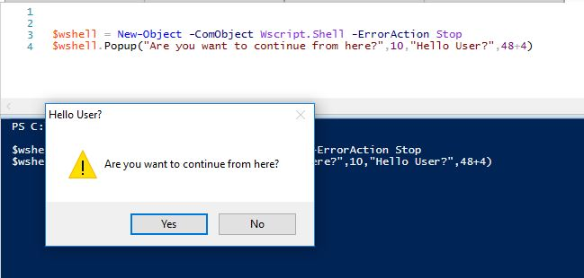 Powershell Gui Input Validation