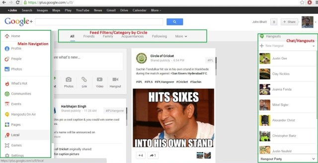 Welcome to New Google Plus 3