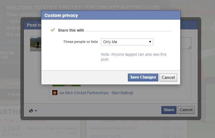 Facebook Post Permissions