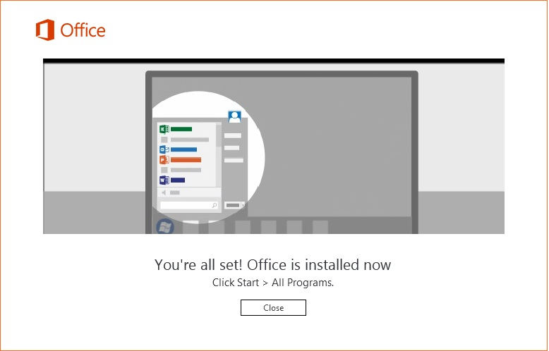 Installing Microsoft Office 2016