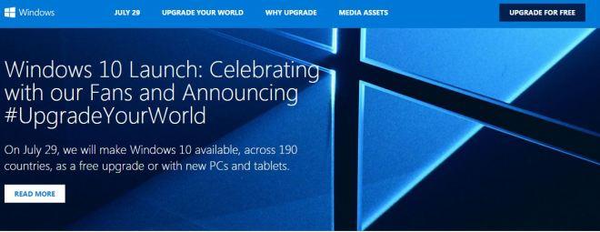 Windows10LaunchWebsite
