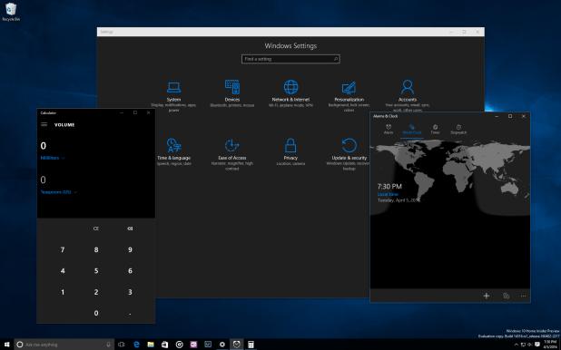 Windows 10 - Build 14316