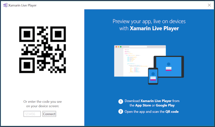 Xamarin Live Player - iOS and iPhone apps now can be compiled without Mac 1
