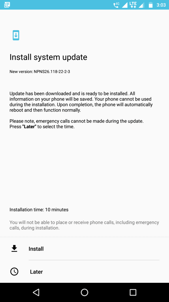 Moto Z Play Android Update NPNS26.118-22-2-3 released in India 3