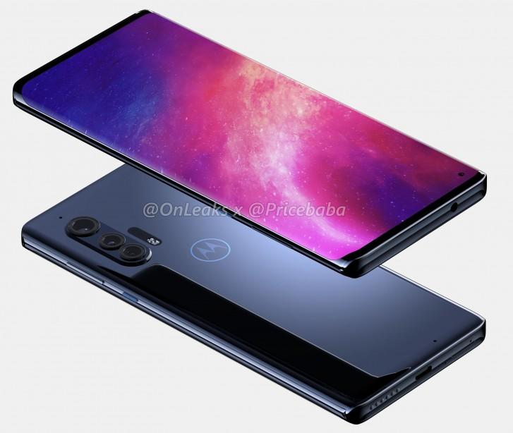 Motorola Edge+ Design Leaked
