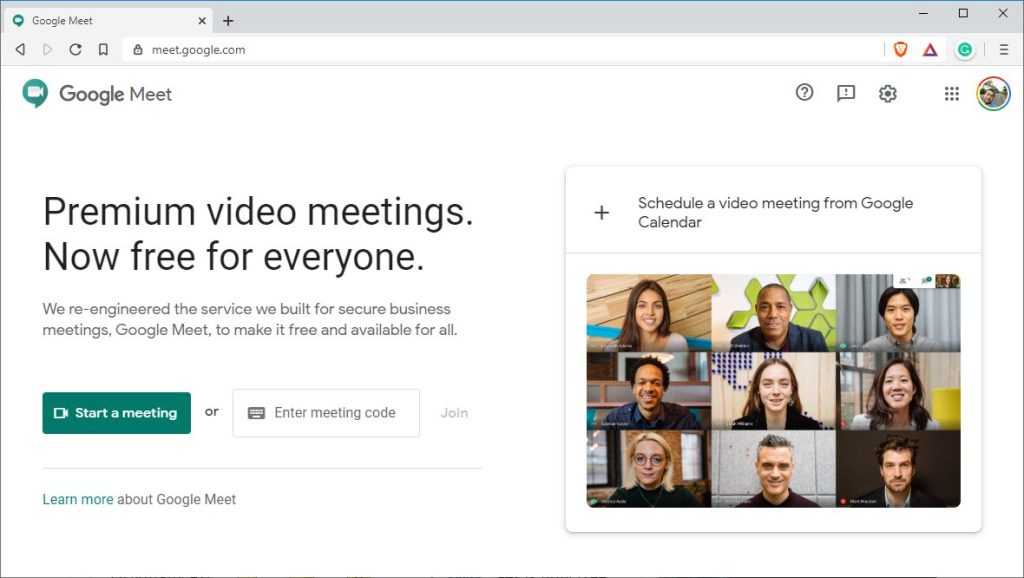 Google Meet free now available. How to use Google Meet for meeting upto 100 people? 11