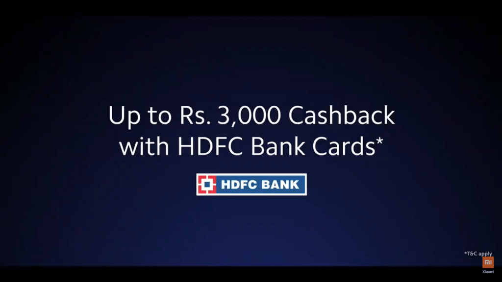 Launch Offer: HDFC Card users will get 3000 Cashback with other offers