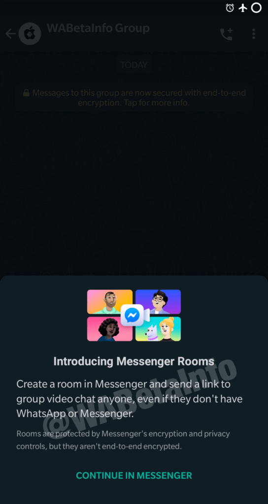 Messenger Rooms