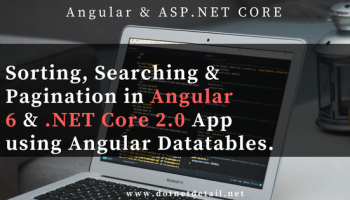 How to add Treeview in Angular 6 and Asp Net Core Application