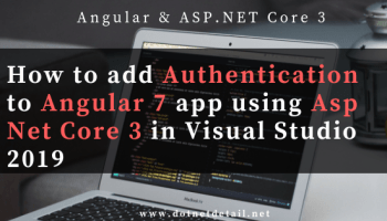 How to add two factor authentication ( 2fa ) in Angular 7