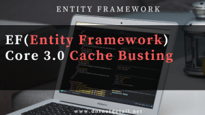 Entity Framework Core Cache Busting
