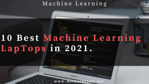 best machine learning laptops