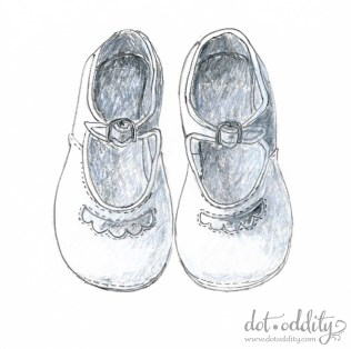 the little shoe project 2015 october by Maria Larsson