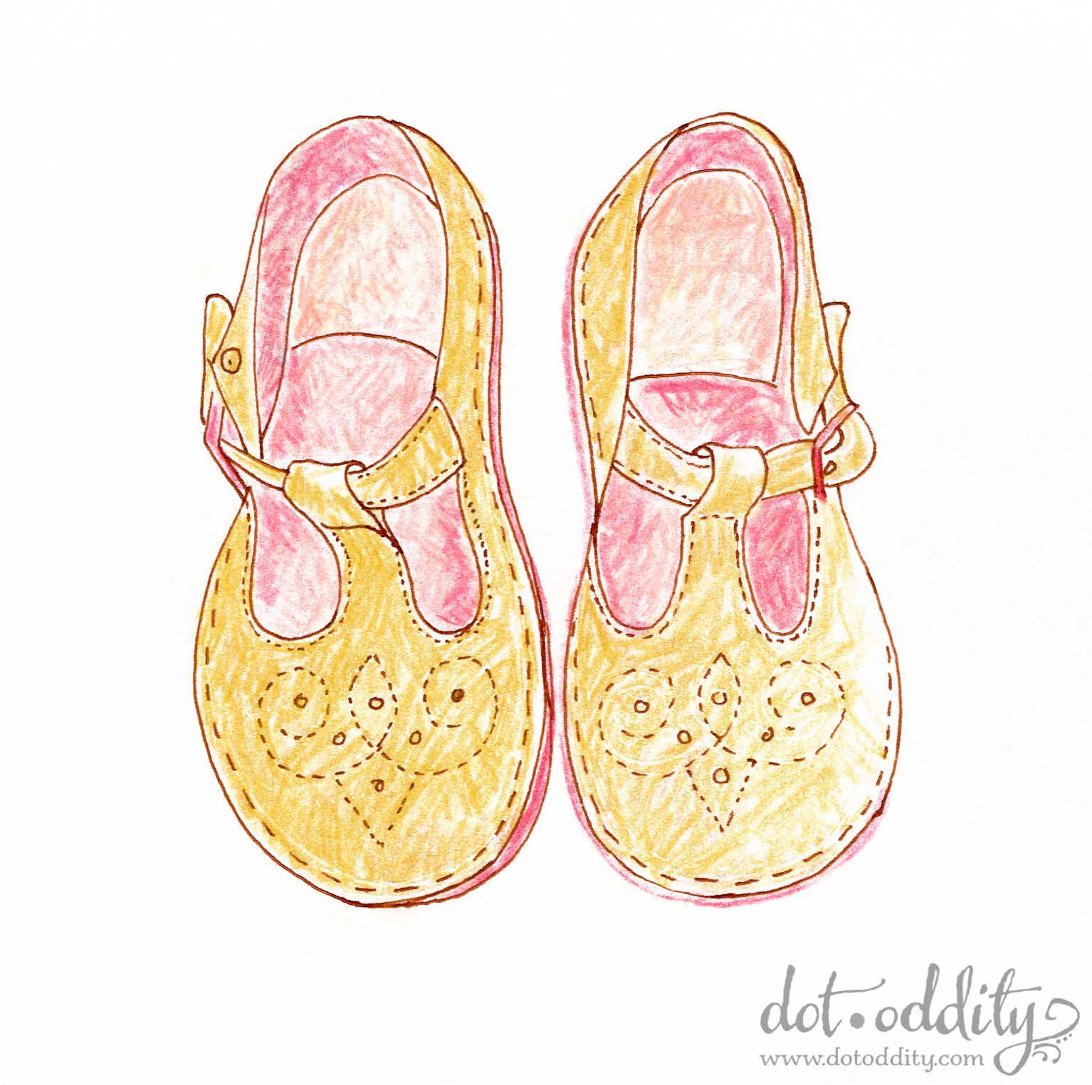 the little shoe project 2015 may by Maria Larsson
