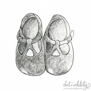the little shoe project 2015 june by Maria Larsson