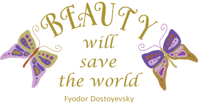 Beauty will save the world by Dot oddity