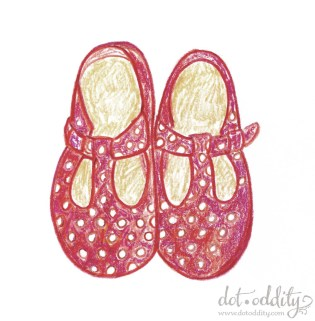 the little shoe project 2015 december by Maria Larsson