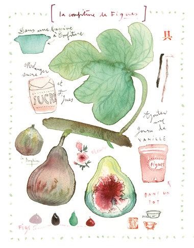 Fig marmelade by Lucile Prache