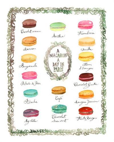 Macaron by Lucile Prache