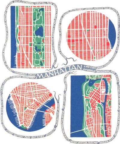 Manhattan by Josef Frank