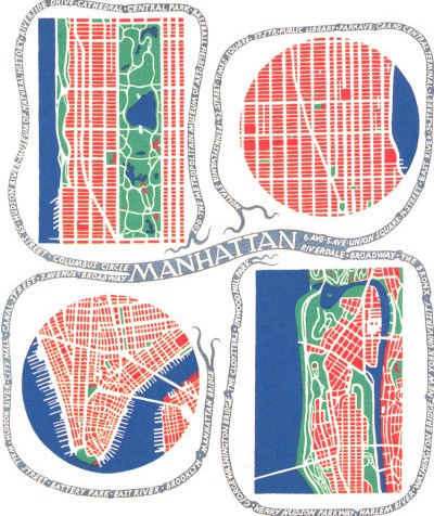 Manhattan by Josef Frank
