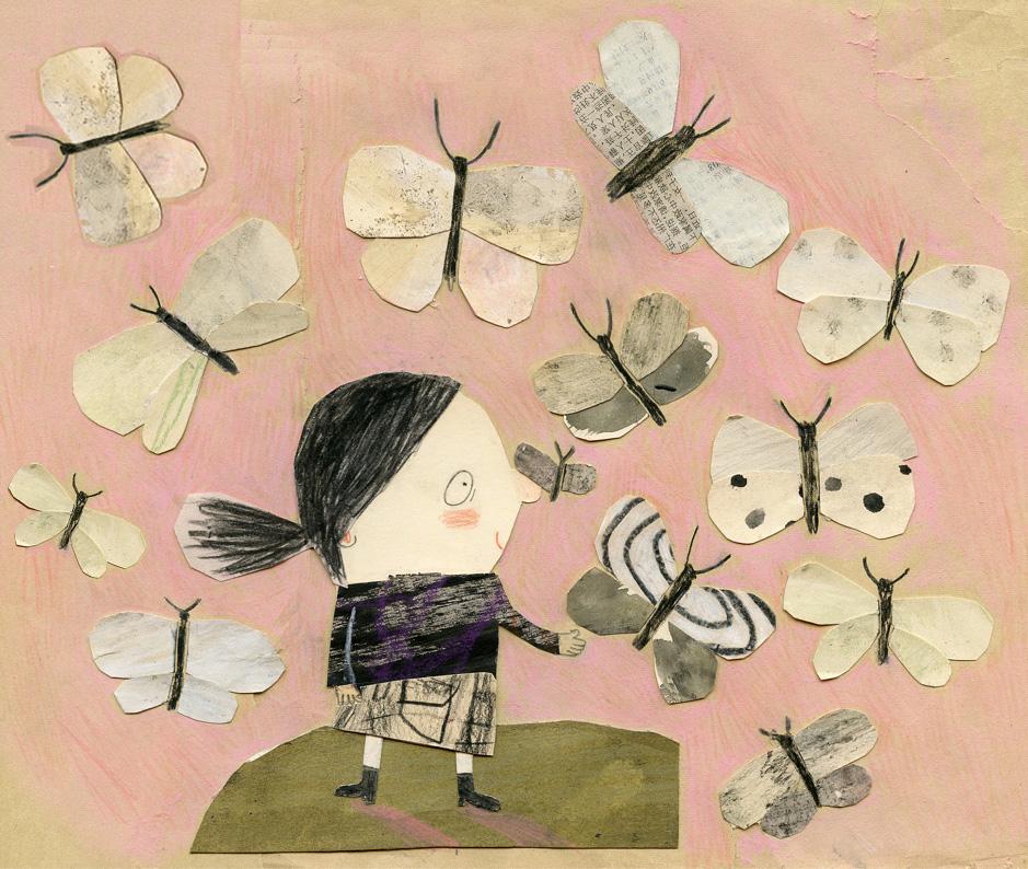 Papillons-Butterflies, 2015 Manon Gauthier