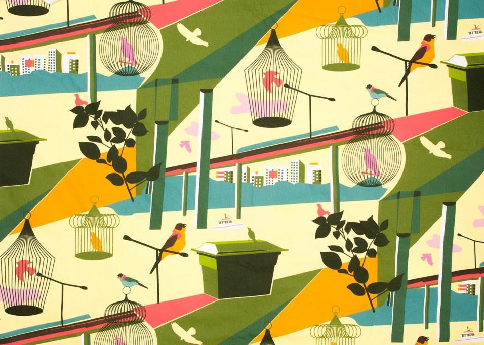 Öppen Klass 2008 pattern by Lotta Kühlhorn for Ikea photo IKEA