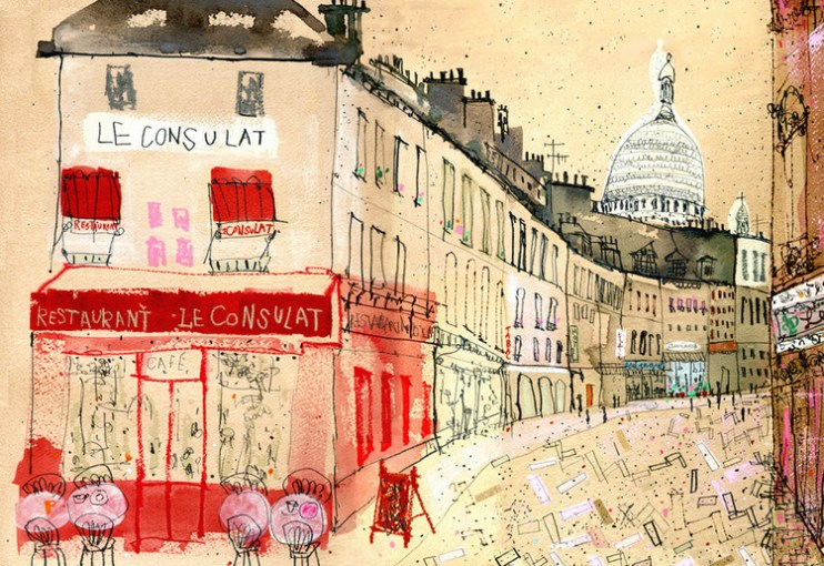 Le Consulat Paris by Clare Caulfield