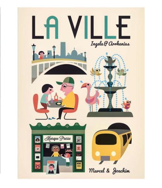 Ingela P Arrhenius for French publisher Marcel & Joachim