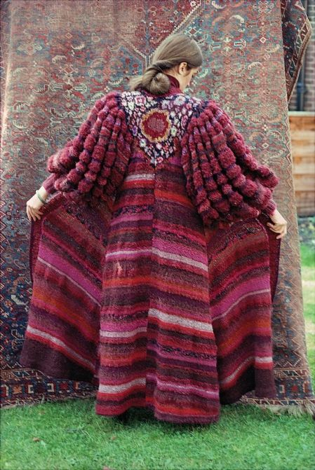 Kaffe Fassett from Glorious Knitting 1985