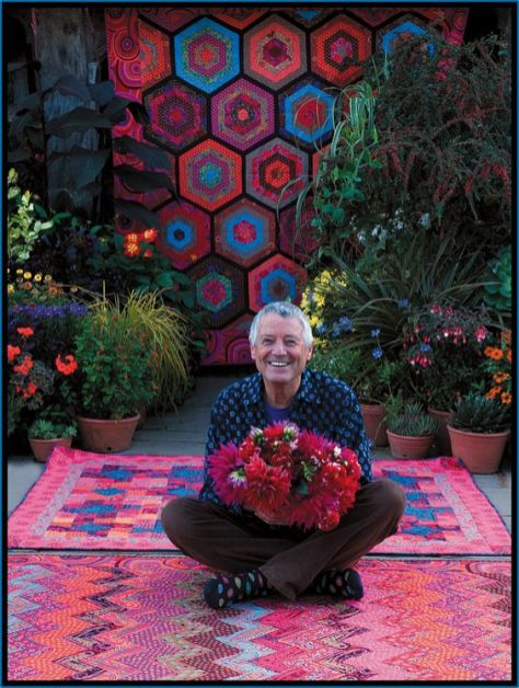 Kaffe Fassett from Dreaming in Color biography